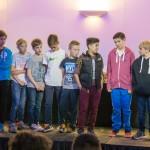 U13 Lions on Stage