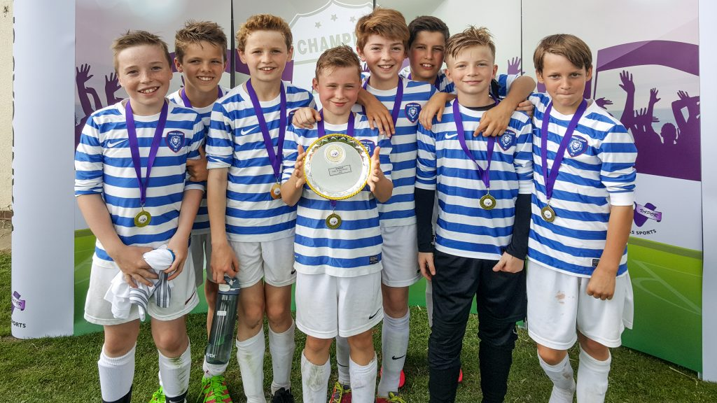 U12 Lions Win Wandgas Plate