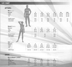 Nike-Size Chart